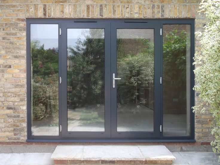 25 best ideas about aluminium french doors on pinterest for Single door french doors