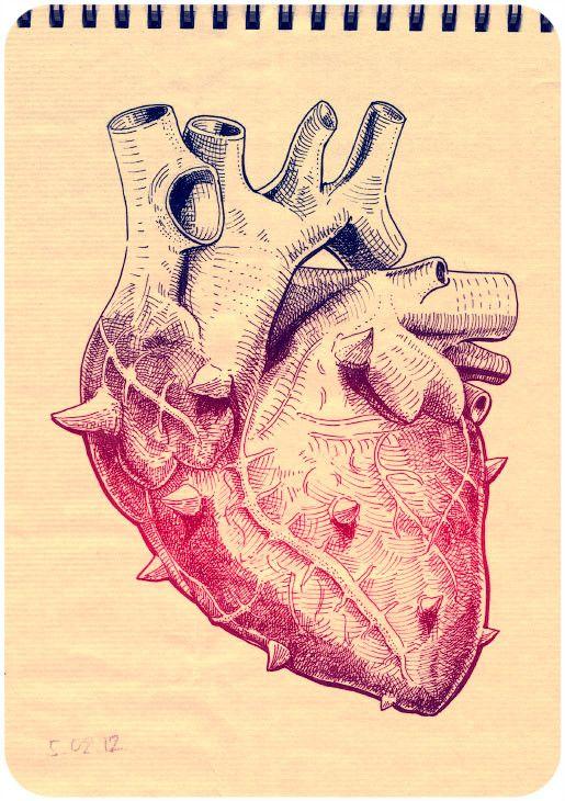 Survived heart by Denis Pakowacz