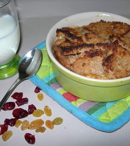 English Bread & Butter Pudding aux abricots secs : la recette facile