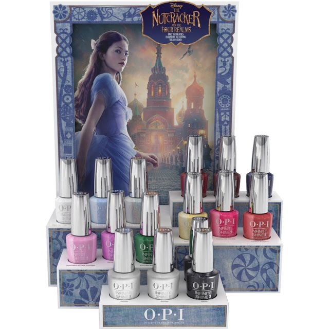 Opi The Nutcracker And The Four Realms O P I Holiday 2018 Collection The Nutcracker And The Four Realms Nutcracker Nail Polish Holiday Nails