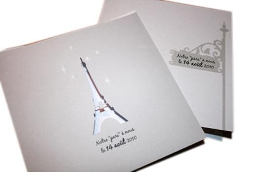 faire-part-rond-mariage-theme-paris, oct. 2011