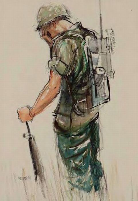 Curiosities: War Art by US Soldiers