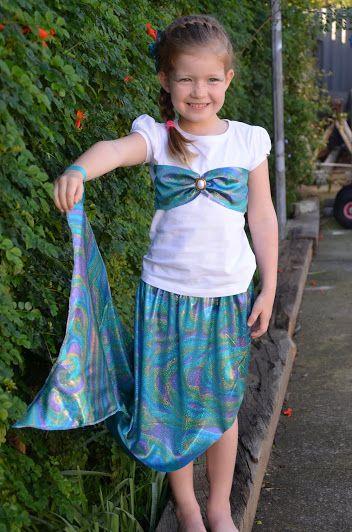 Easy Mermaid Costume Tutorial | mellebugandme