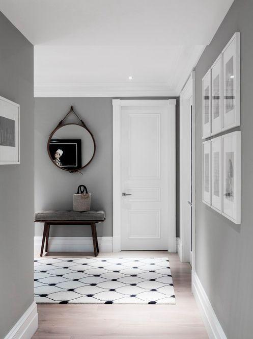 Grey classy interior : so #chic !