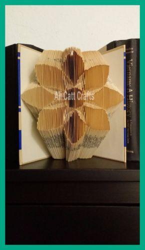 Flower-book-folding-pattern