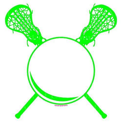 "8"" Round - Green LaCrosse Birthday - Edible Cake/Cupcake ..."