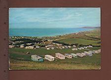 #Dixon1/11 - Brynowen Caravan Park, Borth, Cardiganshire 1964 Postcard