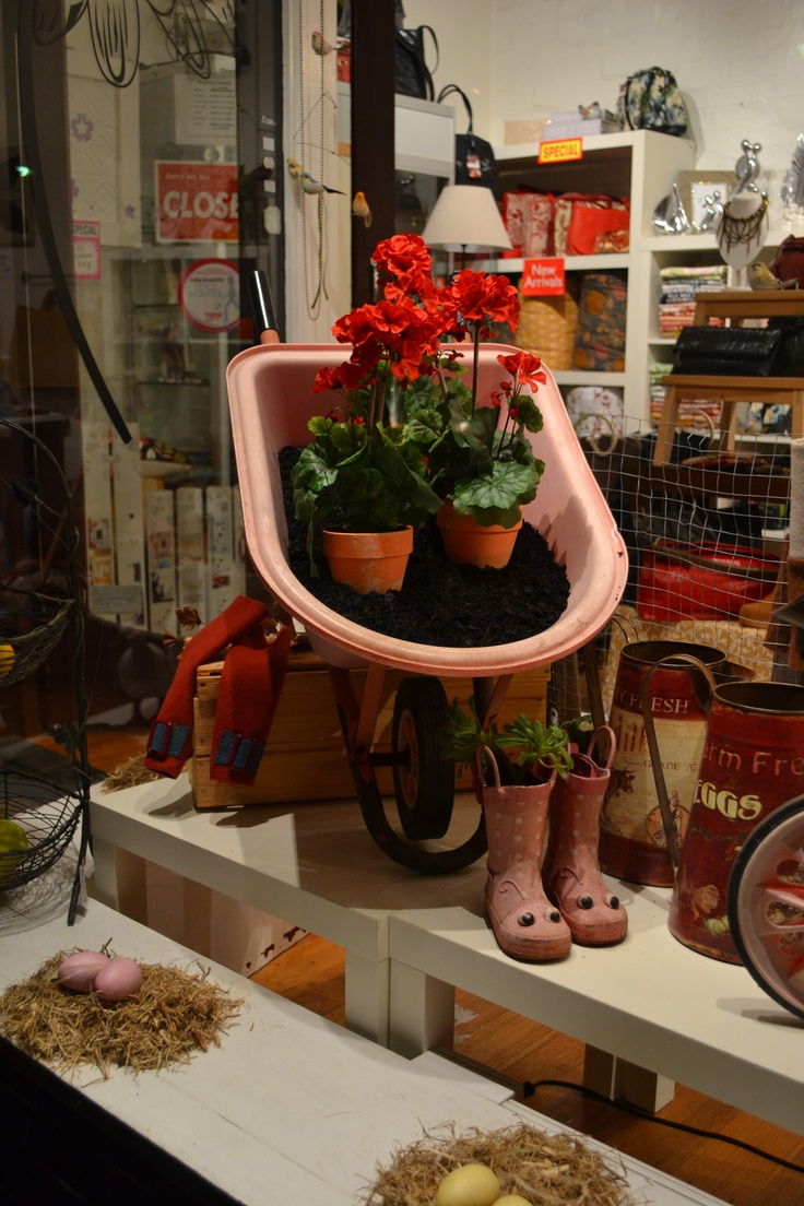 More of my styling. Hukkleberry shop window.