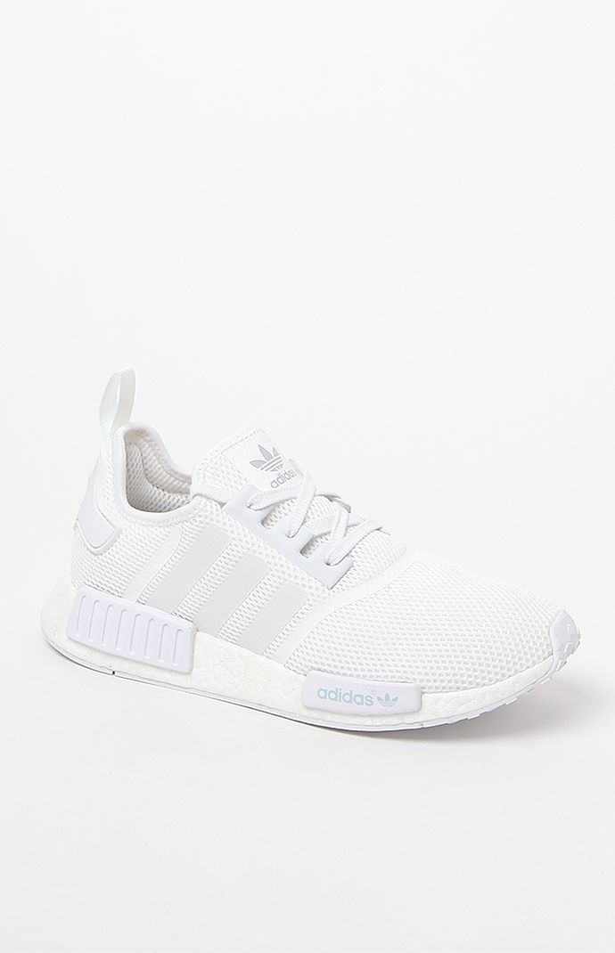 new arrivals 84019 2792d NMD Runner White Shoes. NMD Runner White Shoes White Addidas Shoes, White  Tennis Shoes, White Sneakers, Adidas