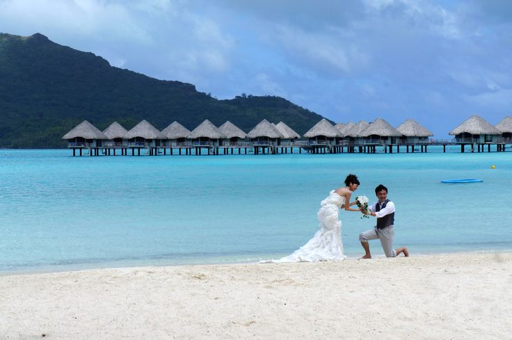 Lună de miere în Bora Bora, Polinezia Franceză.  #haisitu