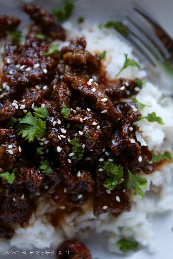 Better Than Take-Out Crispy Sesame Beef Recipe on Yummly. @yummly #recipe