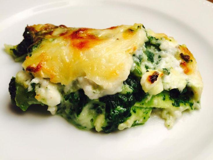 La meilleure recette de lasagne n'est peut-être pas celle que vous croyez...ma #recette de #lasagnes vertes : #lasagne #épinard #fromage de chévre #blettes #broccio et parmesan