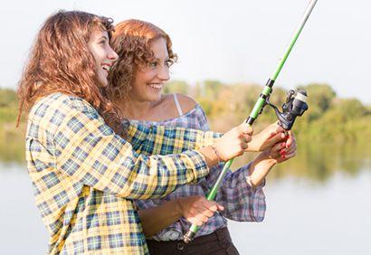 Week-end de pêche entre filles #peche
