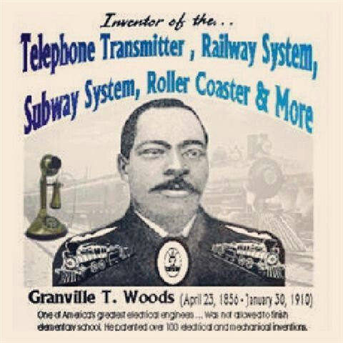 a biography of granville t woods an assiduous african american inventor Georgian-american sportswoman  she had begun a biography of her sister which  both bernice and her husband were assiduous collectors of.