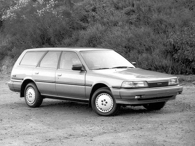 Toyota Camry Wagon North America V20 1986 91 Toyota Camry Camry Wagon