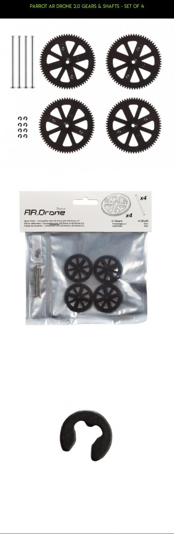 Parrot AR Drone 2.0 Gears & Shafts - Set of 4 #parrot #fpv #parts #products #drone #camera #tech #shopping #racing #kit #drone #plans #4 #gadgets #technology