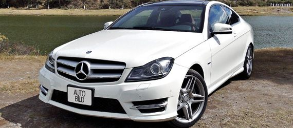 Mercedes-Benz C 350 CGI Coupé  would be nice to have