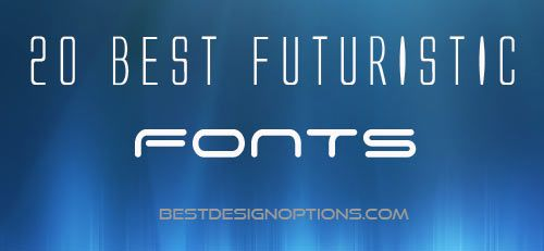 examples of futuristic fonts - some awesome fonts on here.