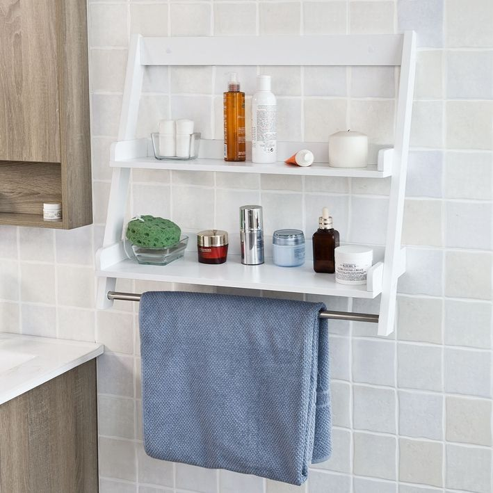 23+ Bathroom wall mounted storage cabinet with 2 shelves white diy