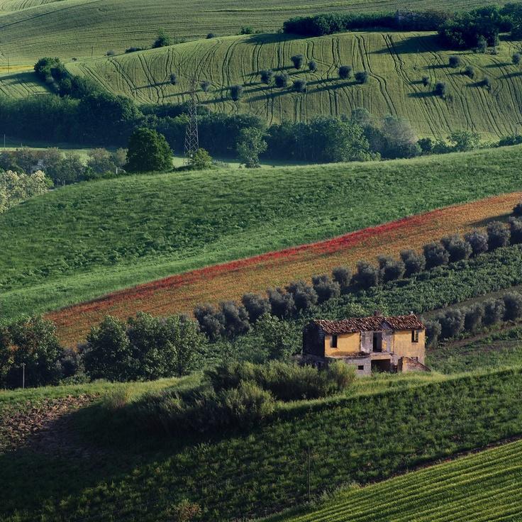 Beautiful countryside near Giulianova