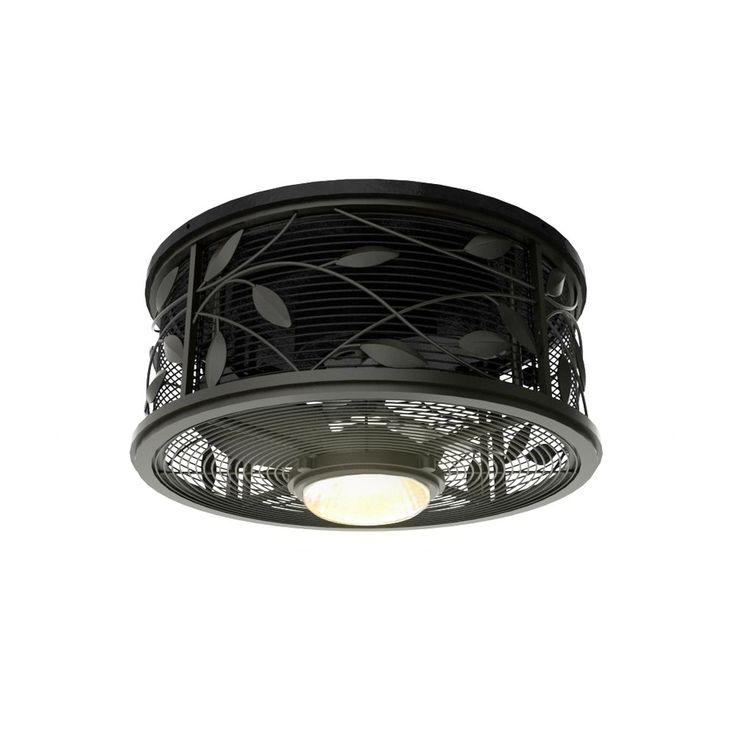 17 Best ideas about Flush Mount Ceiling Fan on Pinterest | Mid ...:Shop Harbor Breeze Hive Series 18-in Aged Bronze Indoor Flush Mount Ceiling  Fan with,Lighting