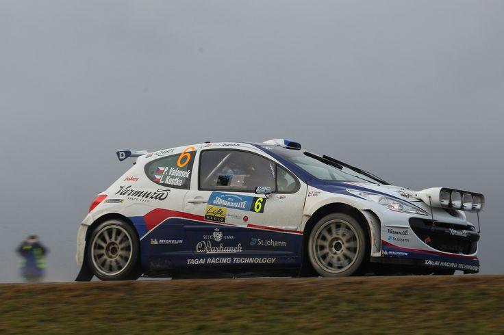 Peugeot 207 S2000 rally car - FIA ERC