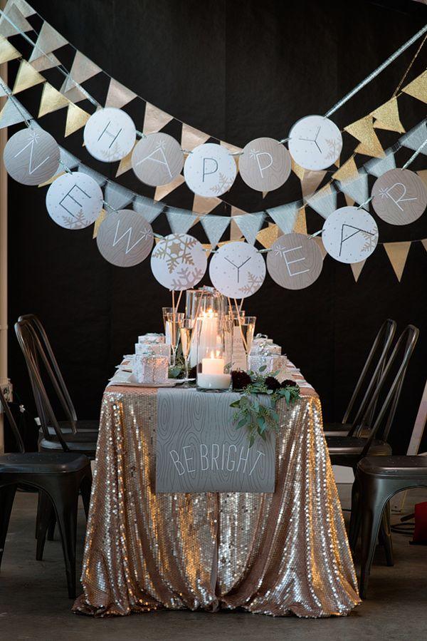New Year's Ideas #newyearseve #nochevieja #decoracion #decoration #decor #ideas #inspiration #inspiración #DIY