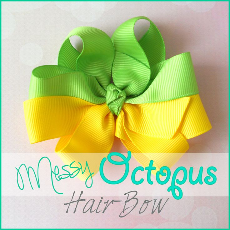 Gather your crafting supplies and join us for some fun on the blog! Twisted Boutique Bow & Messy Octopus Bow