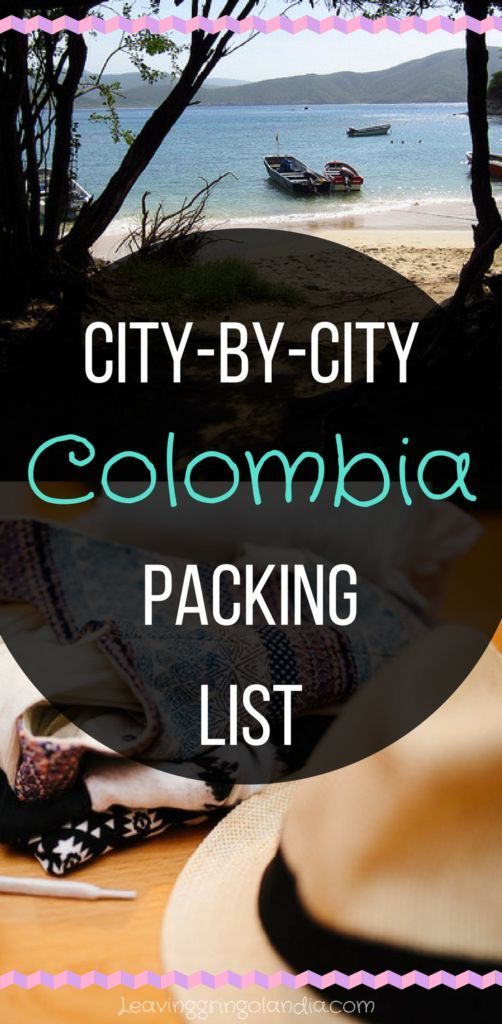 Don't be unprepared for your next Colombia travel. Check out this ultimate Colombia packing list to find out what to pack for Colombia!