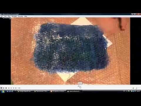 Как добиться стрейч-эффекта в войлоке: видео мастер-класс - Ярмарка Мастеров - ручная работа, handmade