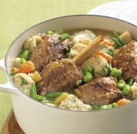 Recipe for Lamb shank braise with parmesan dumplings