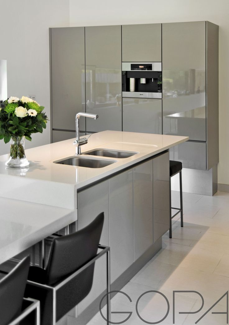51 best images about strakke keukens on pinterest - Moderne amerikaanse keuken ...