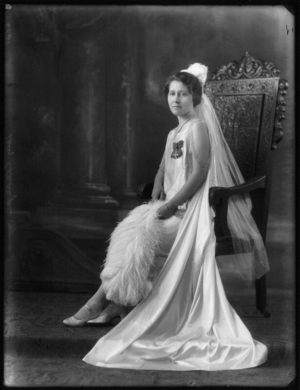 Lady Gladys Mary Broughton Chatterjee(died 1969), Barrister; second wife of Sir Atul Chandra Chatterjee; daughter of William Barnard Broughton. Bassone. Copyright National Portrait Gallery.