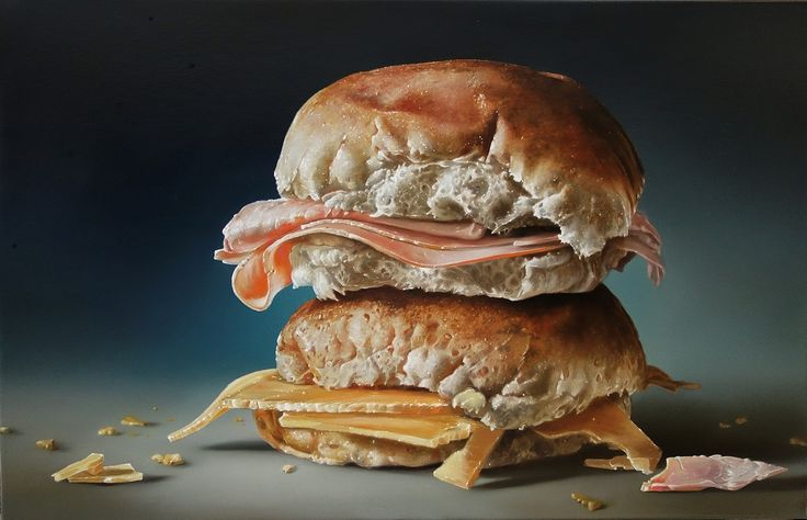 Tjalf Sparnaay's Photorealistic Food Paintings Will Make Your Stomach Growl (PHOTOS)
