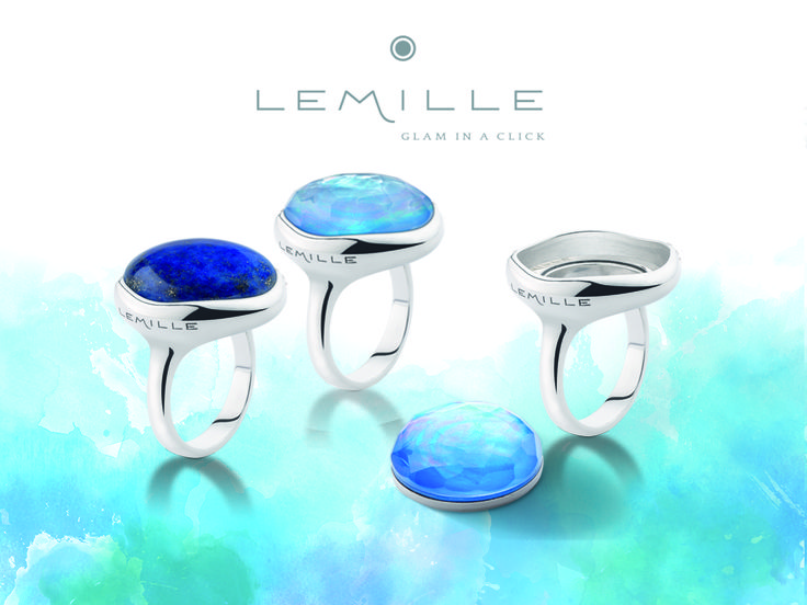 Lemille Glam in a Click collection -www.lemille.com