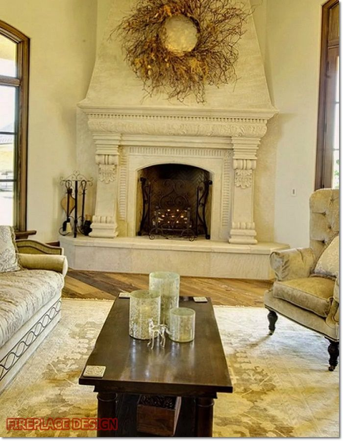 Fireplace Hearth Decor, Can You Put Wood Around A Fireplace