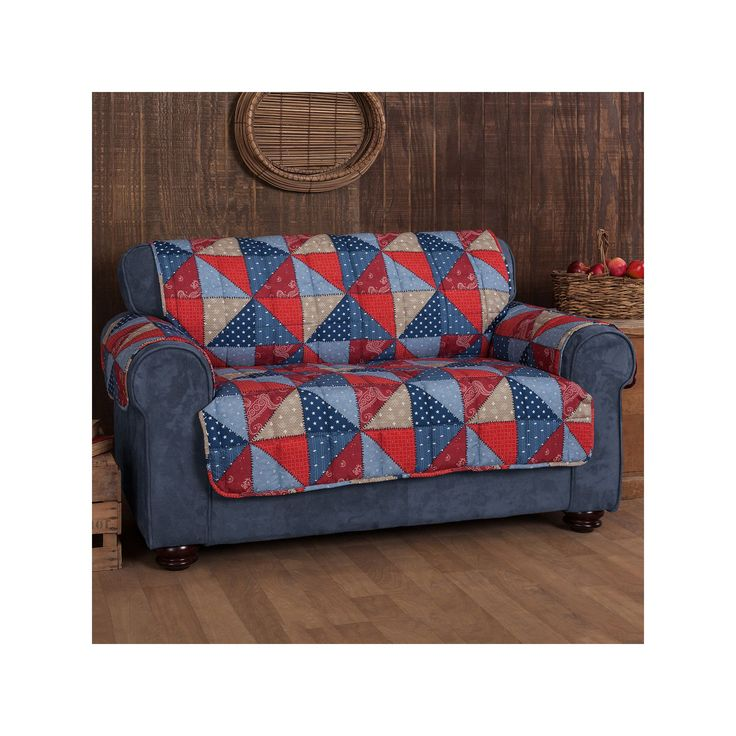 Innovative Textile Solutions Americana Sofa Protector, Multicolor