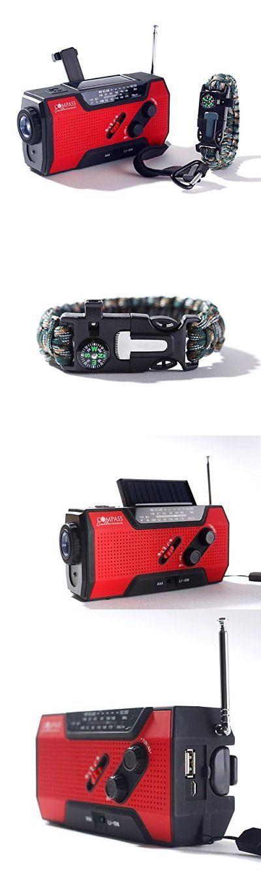 Fire Starters 166126: Solar + Hand Crank Am Fm Radio Emergency Noaa Weather Radio + Usb 2000Mah Pow... -> BUY IT NOW ONLY: $50.65 on eBay!
