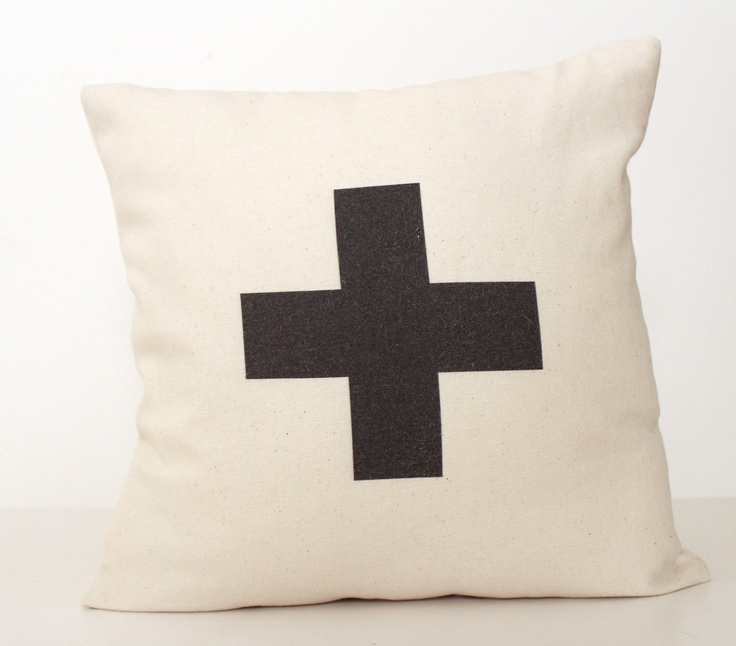 """""""This cushion matches perfctly with the Pia Wallén Cross throw that I have on my bed."""" - Emma #emmasdesignblogg"""