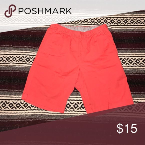 Men's uniqlo shorts Shorts bright red Uniqlo Shorts Athletic