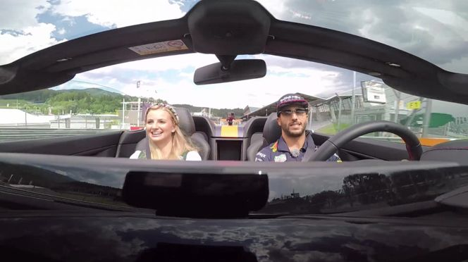 Red Bull Racing - Red Bull Ring Laps Going Like They're Hot With Daniel Ricciardo (VIDEO)