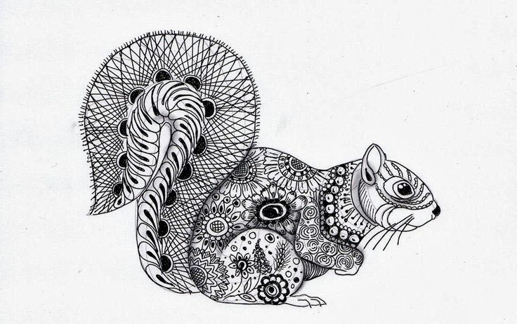Efie goes Zentangle En hier is