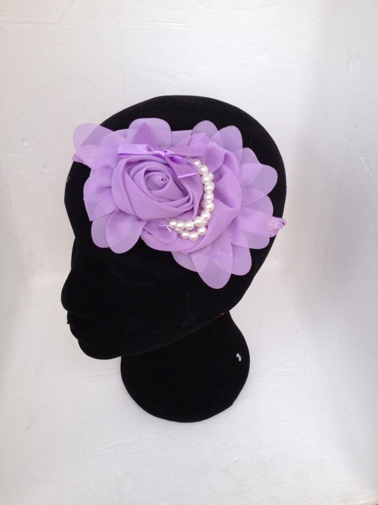 Hairpiece from www.nansbuttonboxbouquets.com.au