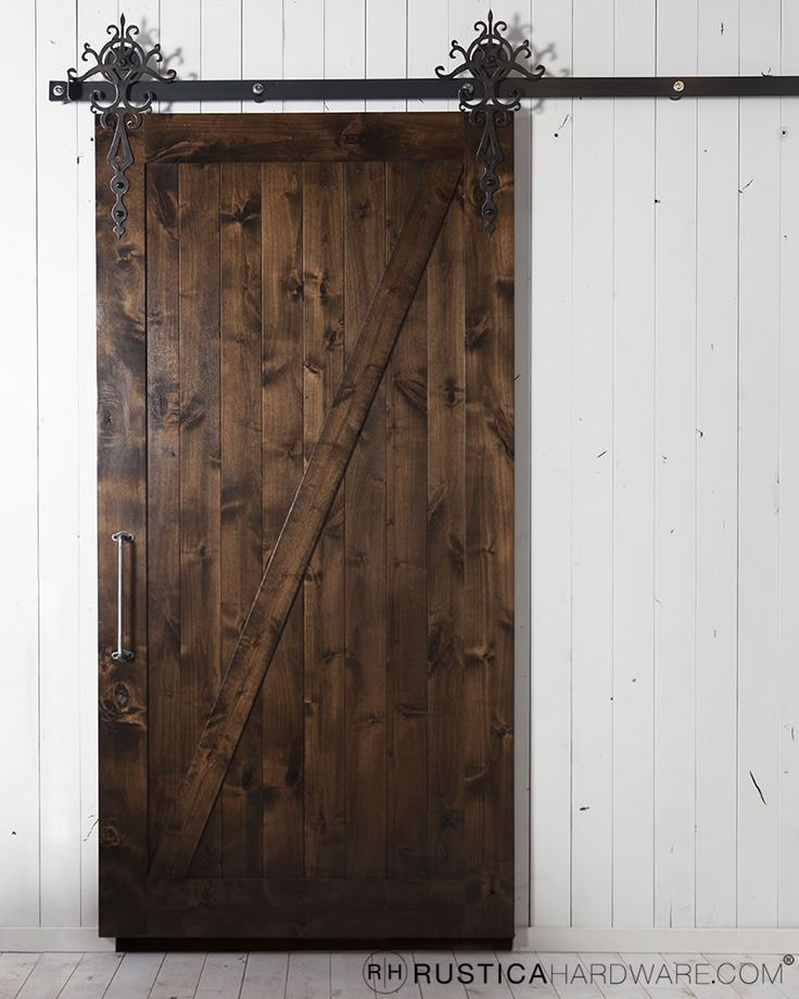 the z style barn door in all its glory
