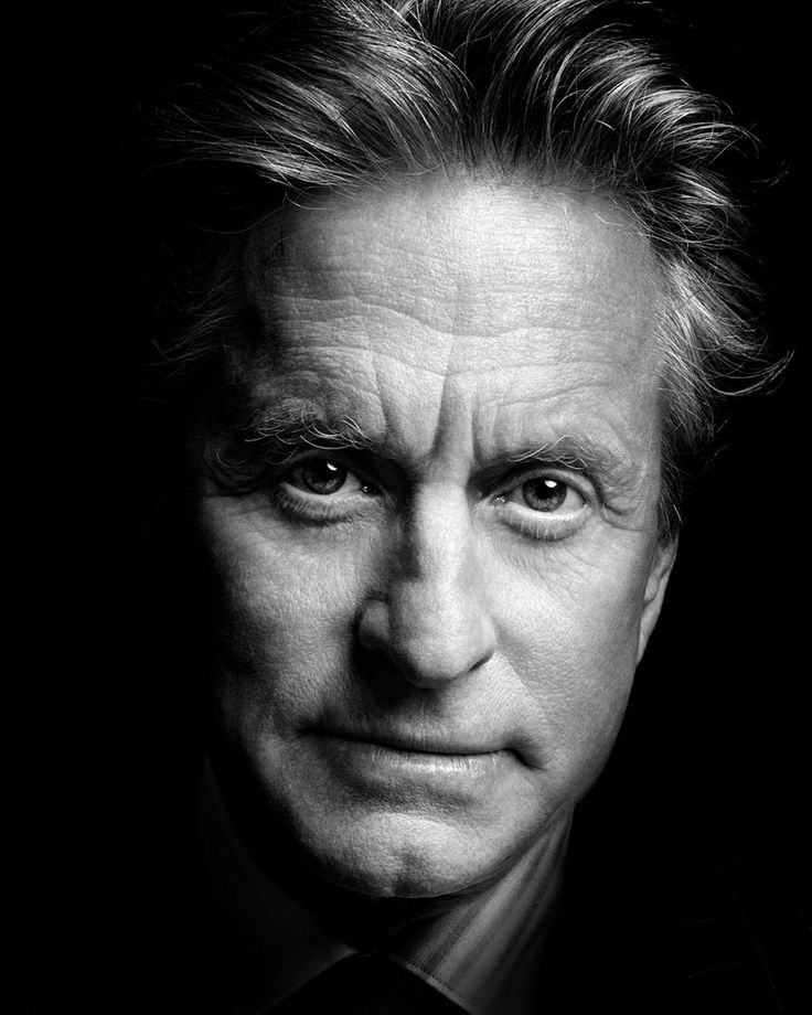 Michael Douglas by Platon. He's one of my favourite actors. And: Old but still sexy!