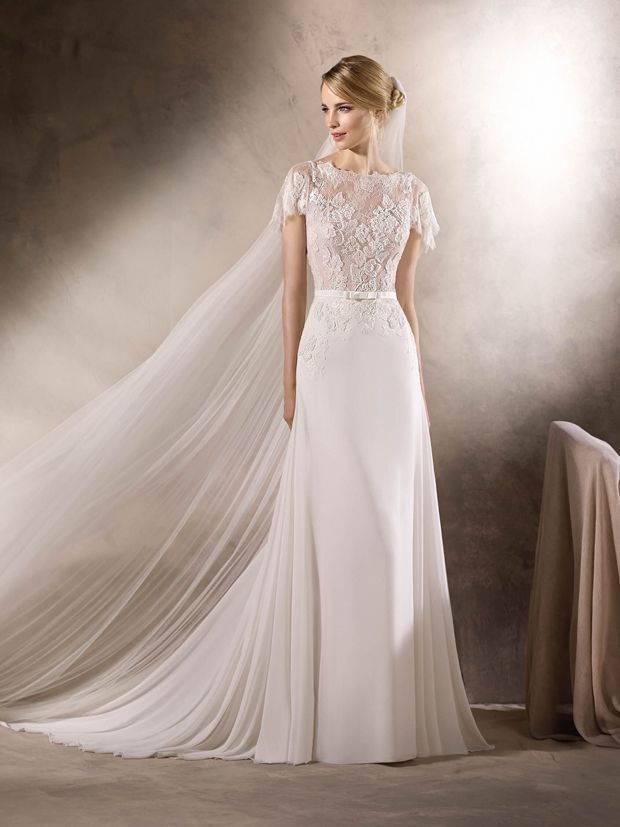 16 stunning lace wedding dresses inspired by Pippa Middleton's beautiful bridal style!