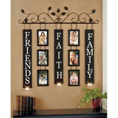 Amazon Com Family Friends Amp Faith Wall Art Photo Picture