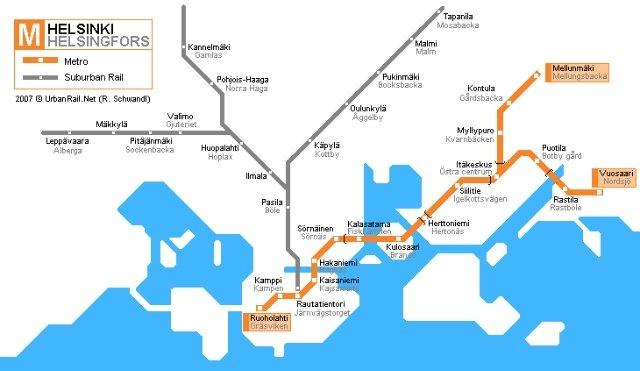 Helsinki Metro--Might be handy