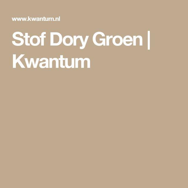 Stof Dory Groen | Kwantum