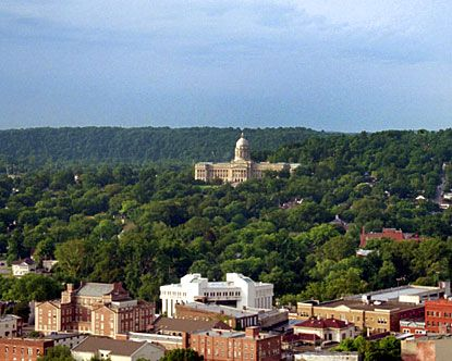 Frankfort is the capital of Kentucky and is known as a history lover's paradise.